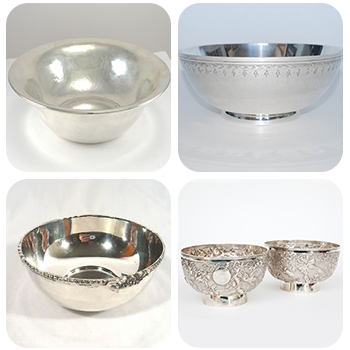Antique Silver Bowl