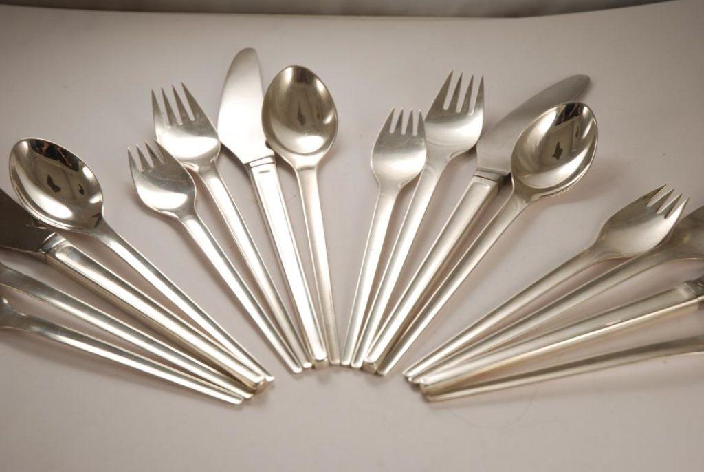 silver flatwares