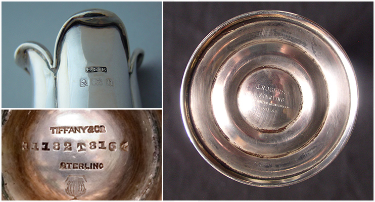 stamp on a common vase