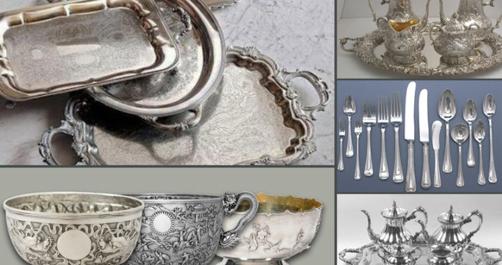 antique silver collection