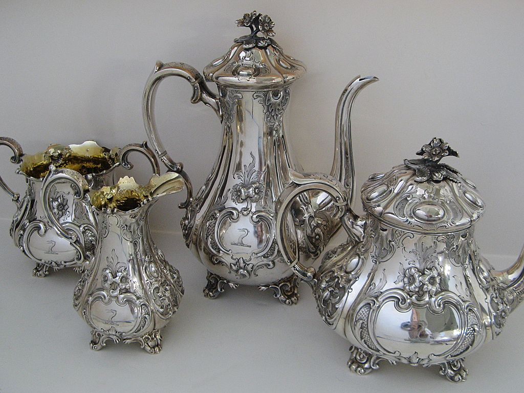 Antique Silver Tea Set For Sale Silver Tea Sets Buyers