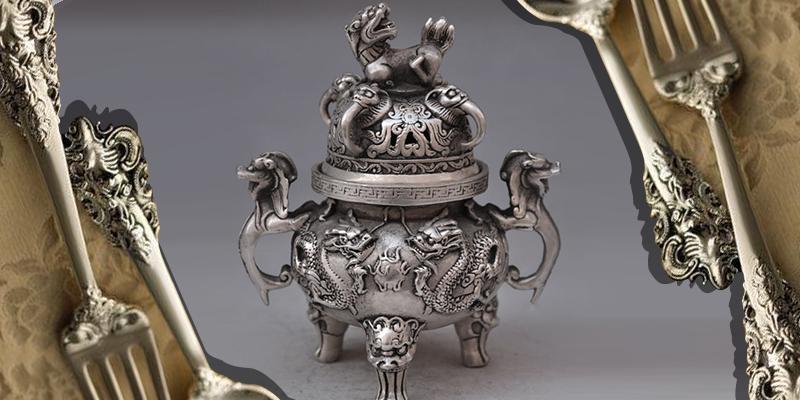 antique silver item