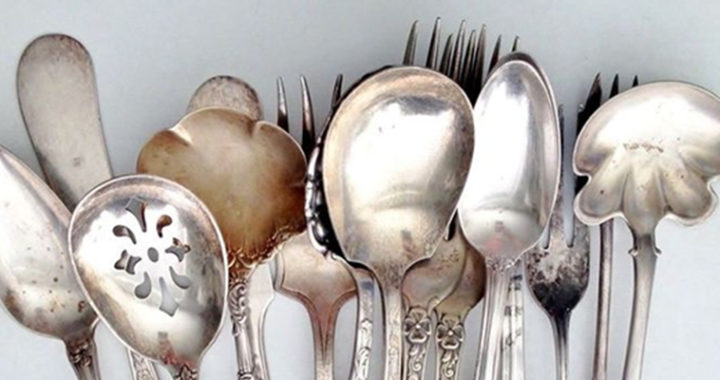 Set of Silver Flatware