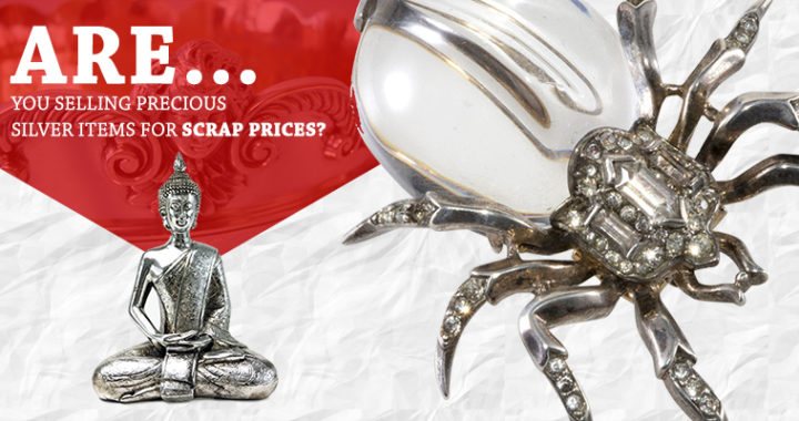 Are You Selling Precious Silver Items For Scrap Prices