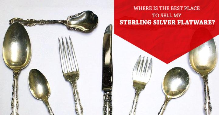 Selling old sterling silverware