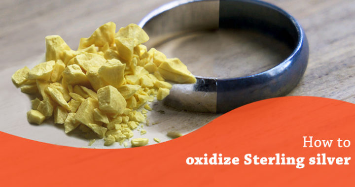 Oxidize Sterling Silver