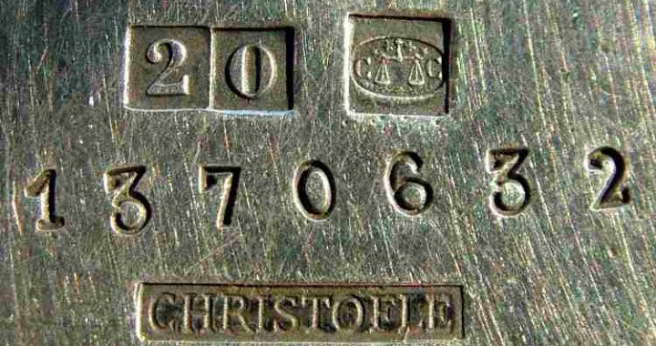 christofile silver marks