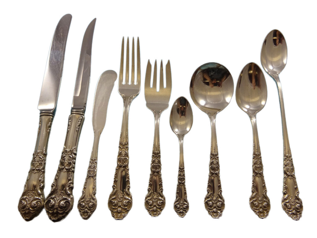How Much Is Old Silverware Worth December 2019